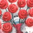 Открытка Букет роз для любимой
