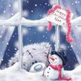 Открытка Скучаю по тебе в рождество...