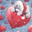 Открытка С любовью в Новый год